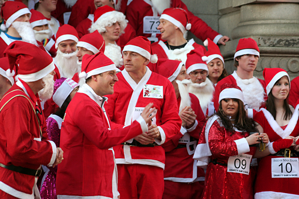 Preparing for the Santa Dash
