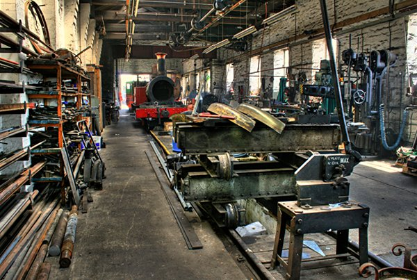 Isle of Man Steam Railway Workshops