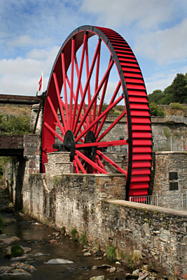The Snaefell Mine Waterwheel, Lady Evelyn