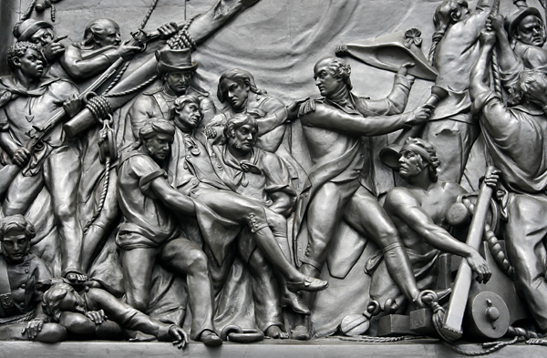 Relief Detail_Nelsons Column